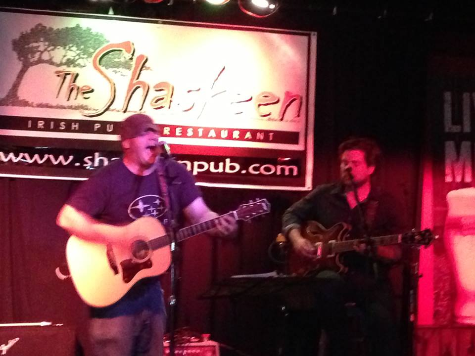 Poirier & Sullivan Acoustic Duo @ The Shaskeen, Manchester, NH - 7/12/2013