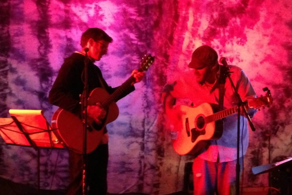 Matt with Tristan Omand - Riverhill Grange Concert Series - 5/25/2013