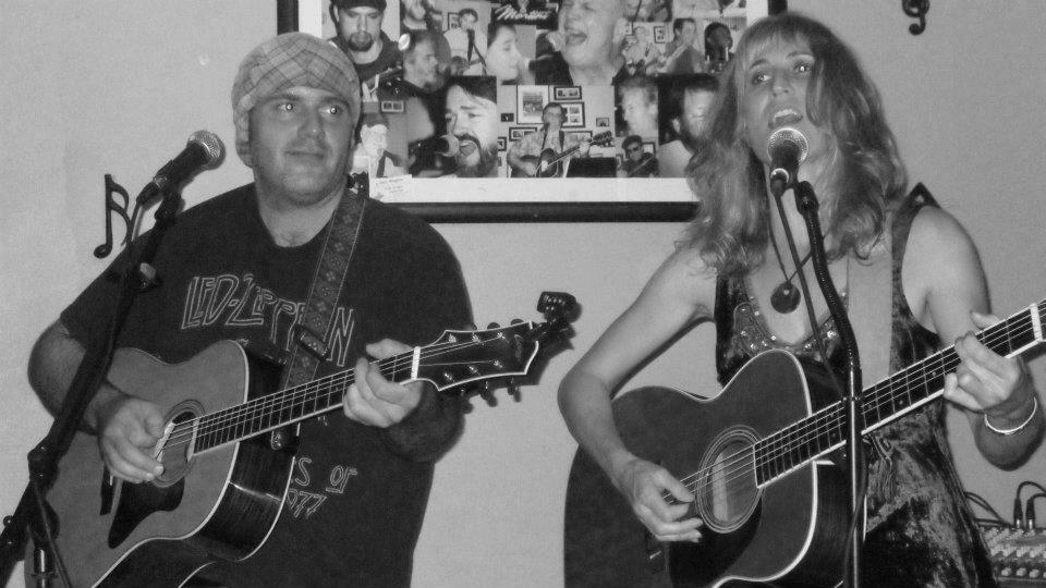 Matt with Mary Fagan - The Green Martini - 10/1/2011