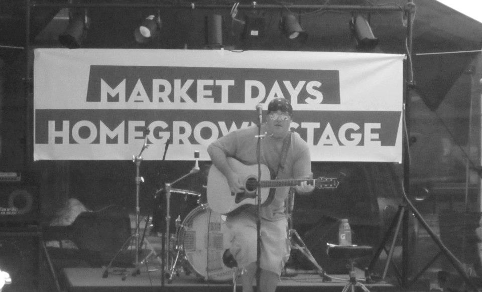 Matt - Solo @ Market Days, Home Grown Stage - Concord, NH 7/21/2012
