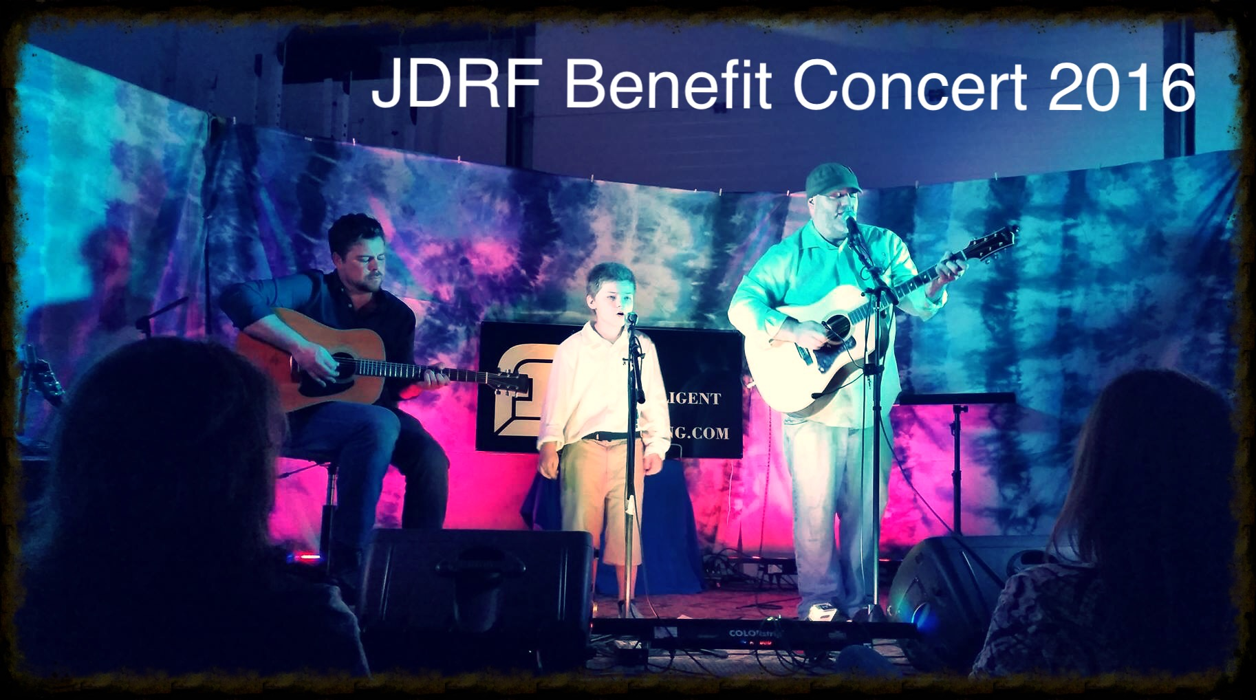 JDRF Benefit Concert 2016 with Matt's son Connor