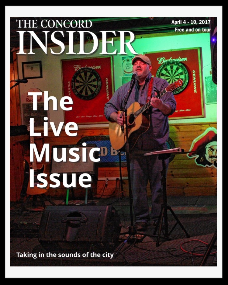 Cover of the Concord Insider, April 4-10, 2017